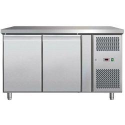 Stół chłodniczy 2-drzwiowy | -2°C/+8°C | 280L | 250W | 1360x700x(H)890mm