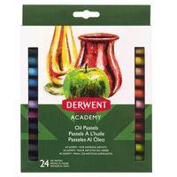 Pozostałe artykuły szkolne, Zestaw pasteli olejnych Derwent Academy 24szt. 2301953