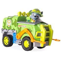 Spin Master Psi Patrol Rocky Śmieciarka Pojazd Jungle z figurką