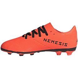Buty piłkarskie adidas Nemeziz 19.4 FxG JR pomarańczowe EH0507