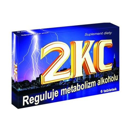 Preparaty na kaca, 2KC 6 tabletek