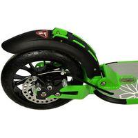 Hulajnogi, Hulajnoga duże koła 200mm z amortyzatorem Daisy Enero - zielony
