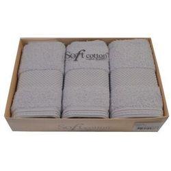 Zestaw podarunkowy małych ręczników DELUXE Jasnoniebieski