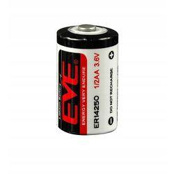 Bateria ER14250 EVE 1.2Ah 3.6V 1/2AA 14.5x25.2mm