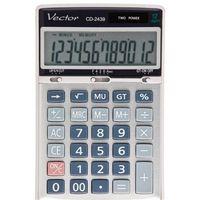 Kalkulatory, Kalkulator Vector CD-2439 - Super Ceny - Rabaty - Autoryzowana dystrybucja - Szybka dostawa - Hurt
