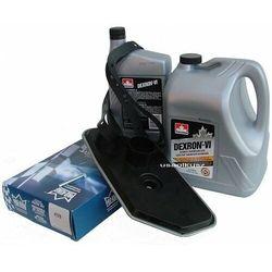 Filtr oraz olej Dextron-VI automatycznej skrzyni biegów A4LD Ford Bronco 4x4