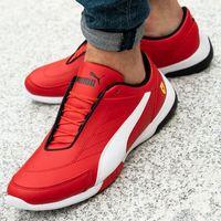 Męskie obuwie sportowe, Puma Sf Kart Cat III Rosso (306219-01)