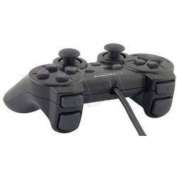 Pad Esperanza EG106 ( PC PS2 PS3; czarny )