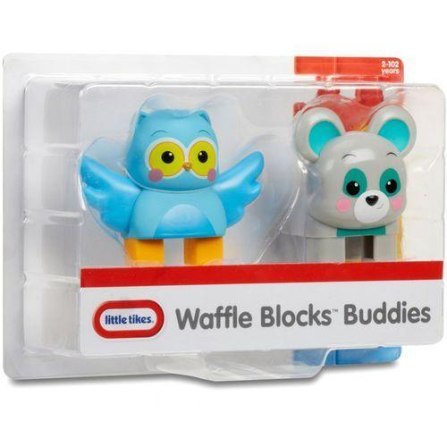 Figurki i postacie, Waffle Blocks figurka Sowa i Niedźwiedź
