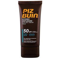 PIZ BUIN Hydro Infusion SPF50 preparat do opalania twarzy 50 ml dla kobiet
