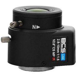 BCS-28103MIR Megapixelowy obiektyw 2.8-10 mm z przysłoną automatyczną do 3 MPX