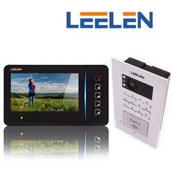 """Leelen LEELEN Wideodomofon 7"""" N60/No18p z szyfratorem: Kolor monitora - biały N60w_No18p - Autoryzowany partner Leelen, Automatyczne rabaty."""