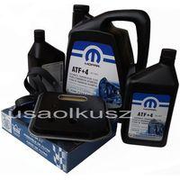 Oleje przekładniowe, Olej MOPAR ATF+4 6,89l oraz filtr oleju oleju skrzyni biegów 42RE Dodge RAM 1998-2009