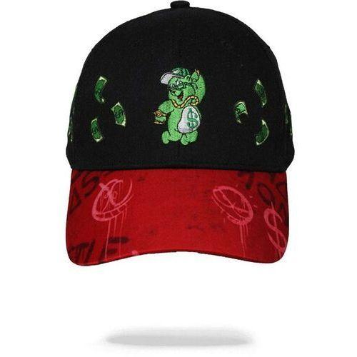 Nakrycia głowy i czapki, czapka z daszkiem SPRAYGROUND - Money Bear Raining Money $ Hat (000) rozmiar: OS