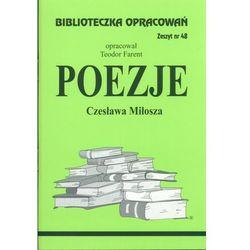 Poezje Czesława Miłosza Zeszyt 48 (opr. miękka)