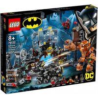 Klocki dla dzieci, LEGO Marvel Super Heroes 76122 Atak Clayface'a™ na Jaskinię Batmana