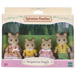 Sylvanian Families Rodzina pręgowanych kotków