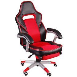 Fotel biurowy GIOSEDIO czarno-czerwony, model FBG041