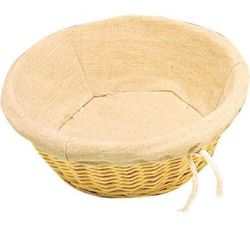 Koszyk na chleb okrągły | 23(Ø)x(H)9cm