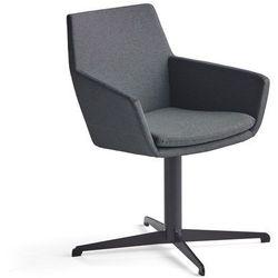 Krzesło konferencyjne FAIRVIEW, czarny, antracyt