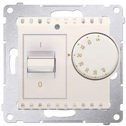 Regulator temperatury Simon 54 DRT10W.02/41 z czujnikiem wewnętrznym kremowy Kontakt-Simon