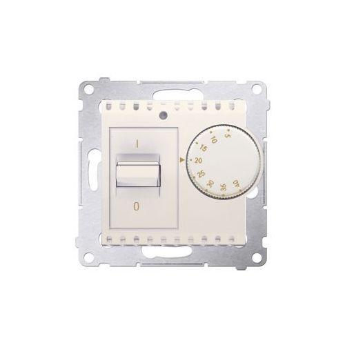 Regulatory i sterowniki, Regulator temperatury Simon 54 DRT10W.02/41 z czujnikiem wewnętrznym kremowy Kontakt-Simon