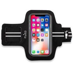 """Puro Armband - Uniwersalna sportowa opaska na ramię do smartfonów max 5.5"""" (czarny)"""