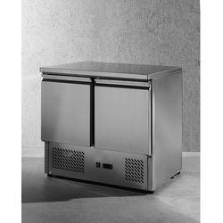Stół chłodniczy dwudrzwiowy z blatem roboczym | HENDI, 232019