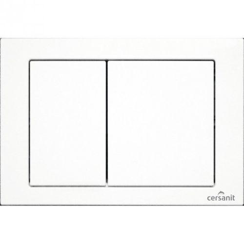 cube biały przycisk spłukujący do systemów podtynkowych hi-tec cersanit k97-262 marki Cersanit