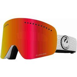 gogle snowboardowe DRAGON - Dr Nfx 8 Pkwhite Llredion+Llpinkion (106) rozmiar: OS