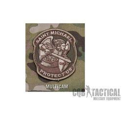 Naszywka Mil-Spec Monkey Saint Michael Modern PVC Multicam