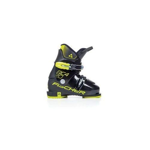 Buty narciarskie dla dzieci, FISCHER Buty RC4 20 Junior Thermoshape Black