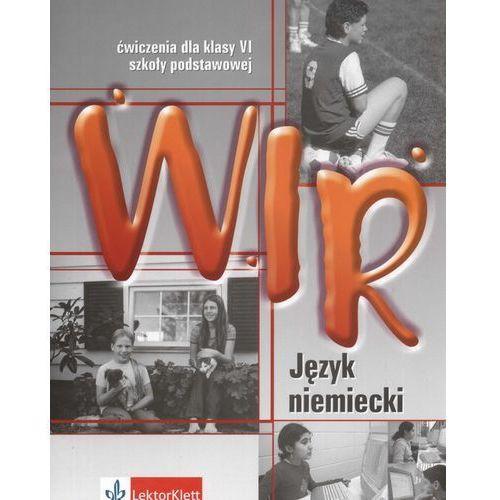Książki do nauki języka, Wir SP KL 6 Ćwiczenia Język Niemiecki (opr. miękka)