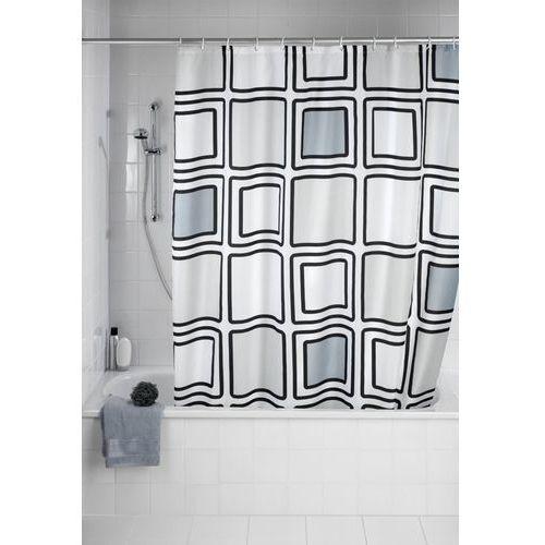Zasłona prysznicowa Mono, tekstylna, 180x200 cm, WENKO