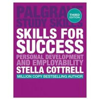 Książki do nauki języka, Skills for Success: Personal Development and Employability. Palgrave Study Skills