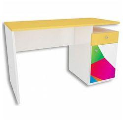 Biurko dziecięce z kolorową grafiką Elif 3X - 5 kolorów