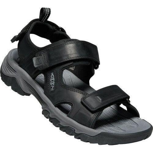 Sandały męskie, Keen Targhee III Sandały Mężczyźni, black/grey US 9   EU 42 2020 Sandały sportowe