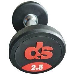 Hantel ogumowany DS 2.5 kg