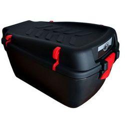 Kufer na bagażnik CARGO duży czarny-uchwyty czerwone