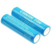 Akumulatorki, 2x akumulator 18650 2600mAh 9.62Wh Li-Ion 3.7V z zabezpieczeniem PCM (Cameron Sino)