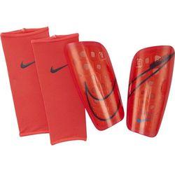 Ochraniacze piłkarskie Nike Merc LT GRD czerwono-czarne SP2120 644