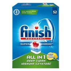 FINISH 52szt Powerball All in 1 Tabletki do zmywarki