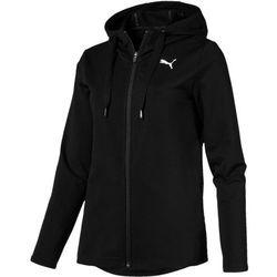 Puma Bluza damska Modern Sport FZ Logo Hoody Cotton Black S - BEZPŁATNY ODBIÓR: WROCŁAW!