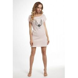 Koszula nocna Dolce Sonno - Tina - Róż Puder - SKY