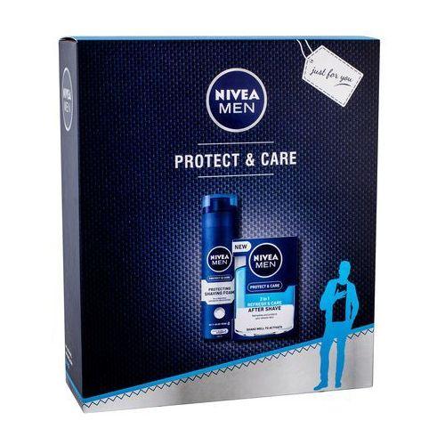 Wody po goleniu, Nivea Men Protect & Care zestaw 100 ml dla mężczyzn