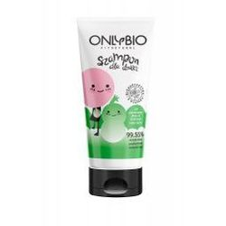 OnlyBio, szampon dla dzieci od pierwszych dni do 3-go roku życia, 200ml