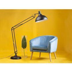Fotel tapicerowany jasnoniebieski NAPPA
