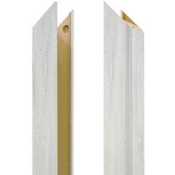 Baza ościeżnicy regulowana 80-95 mm prawa do drzwi bezprzylgowych dąb silver