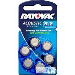 600 x baterie do aparatów słuchowych Rayovac Acoustic Special 675AE