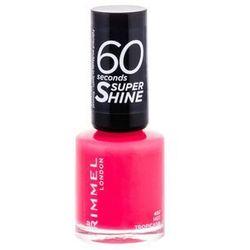 Rimmel 60 Seconds Super Shine lakier do paznokci odcień 407 Hot Tropicana 8 ml
